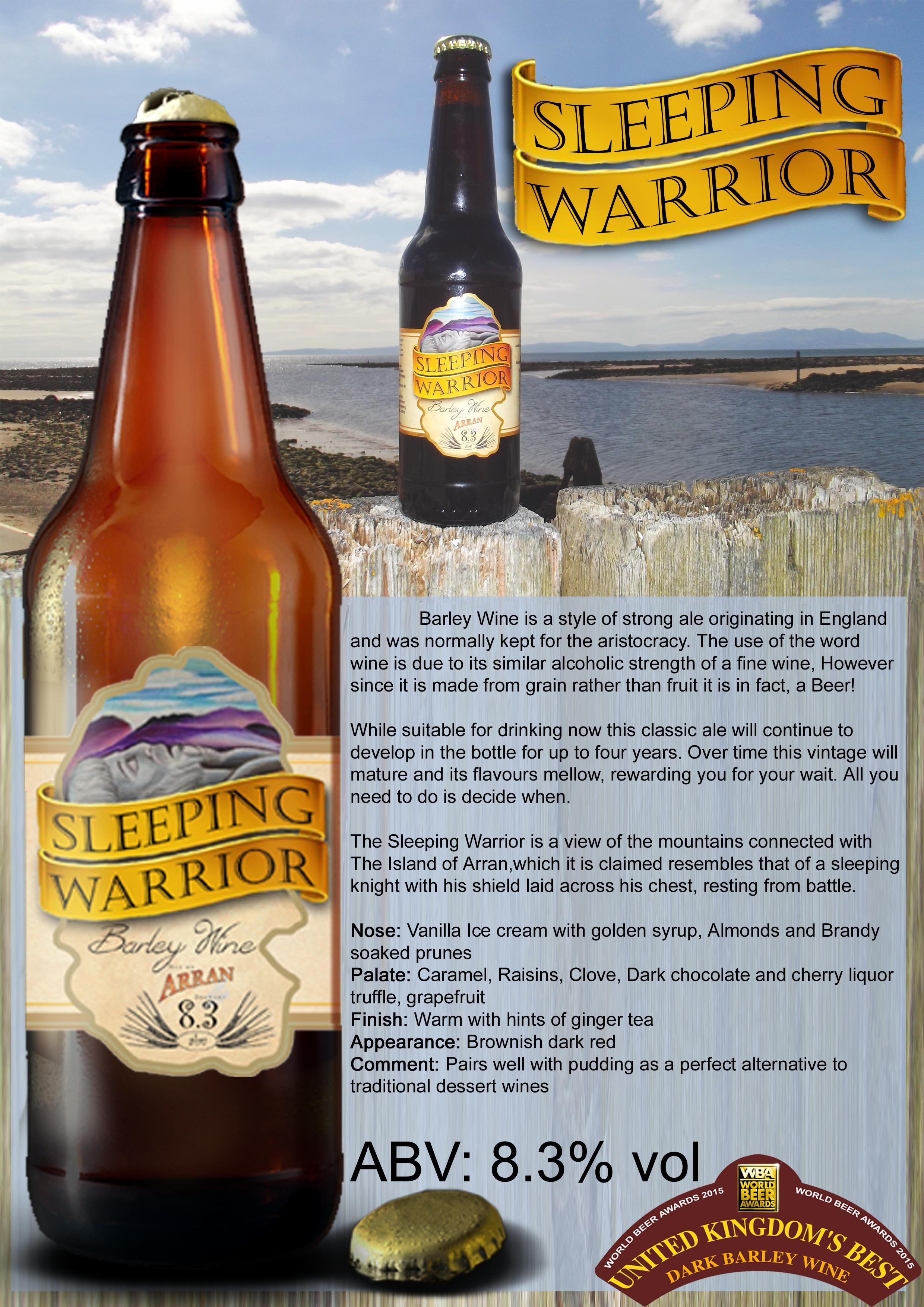 Sleeping Warrior Sell Sheet 0.5