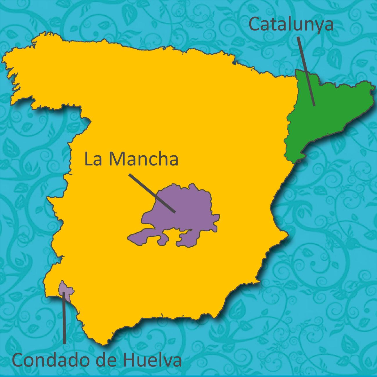 Spain_Map_Cava&Rose_Vines