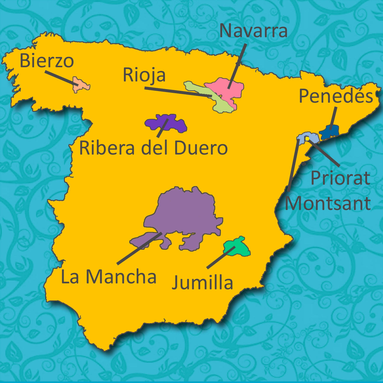 Spain_Map_Reds_Vines